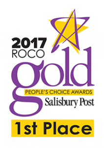 2017 RoCo Gold 1st Place Winner, Salisbury